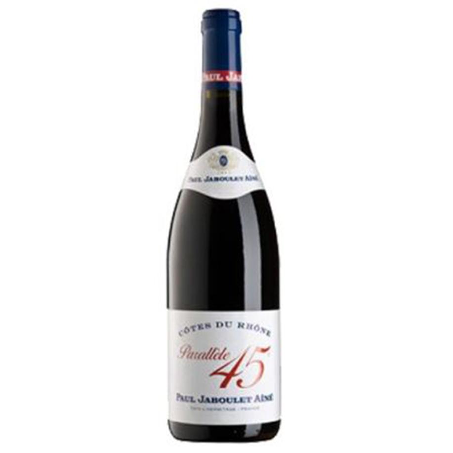 Côtes du Rhône AOC MO «Parallèle 45» Rouge – Vin Biologique