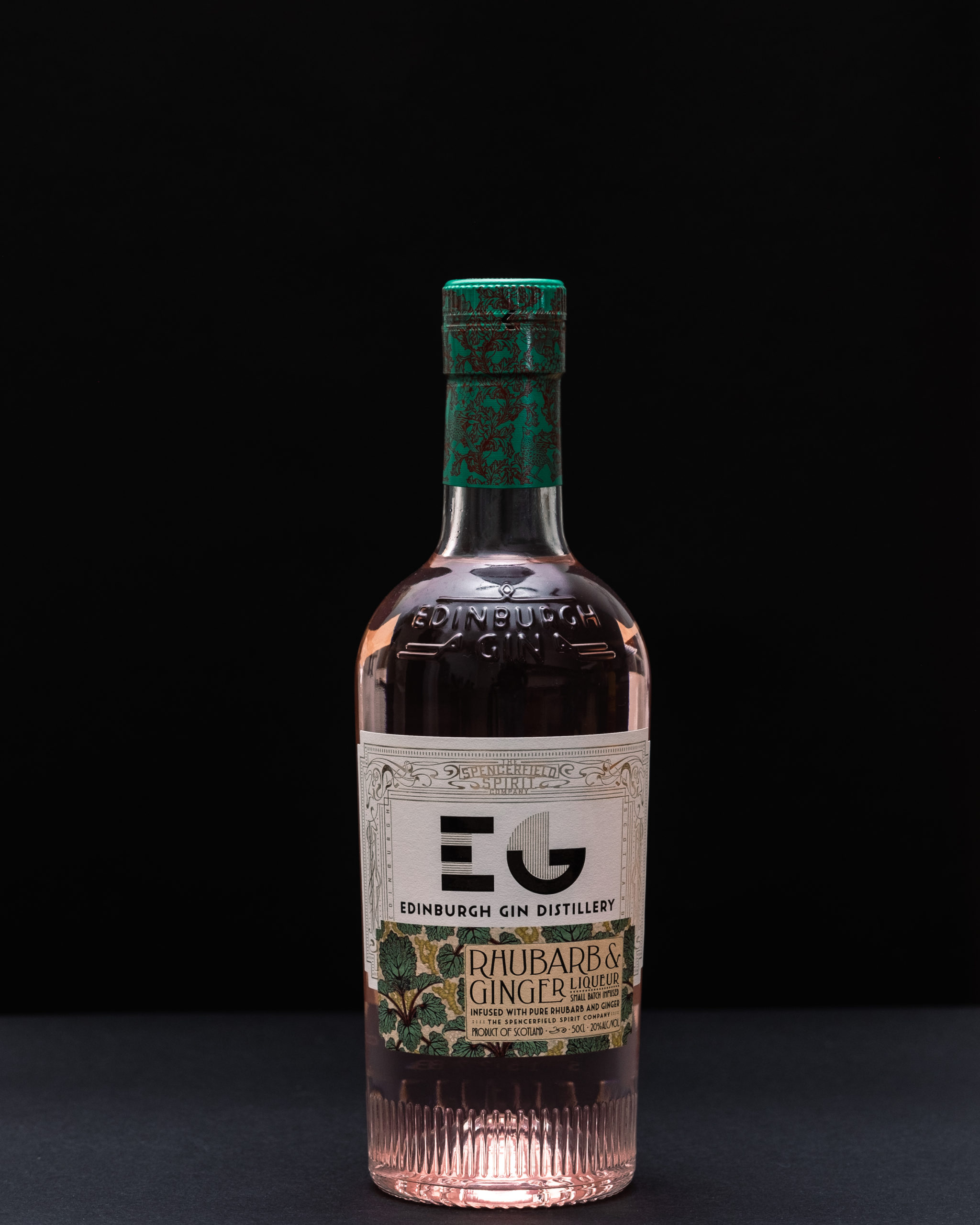 Edinburgh Gin Liqueur de Rhubarbe- Gingembre