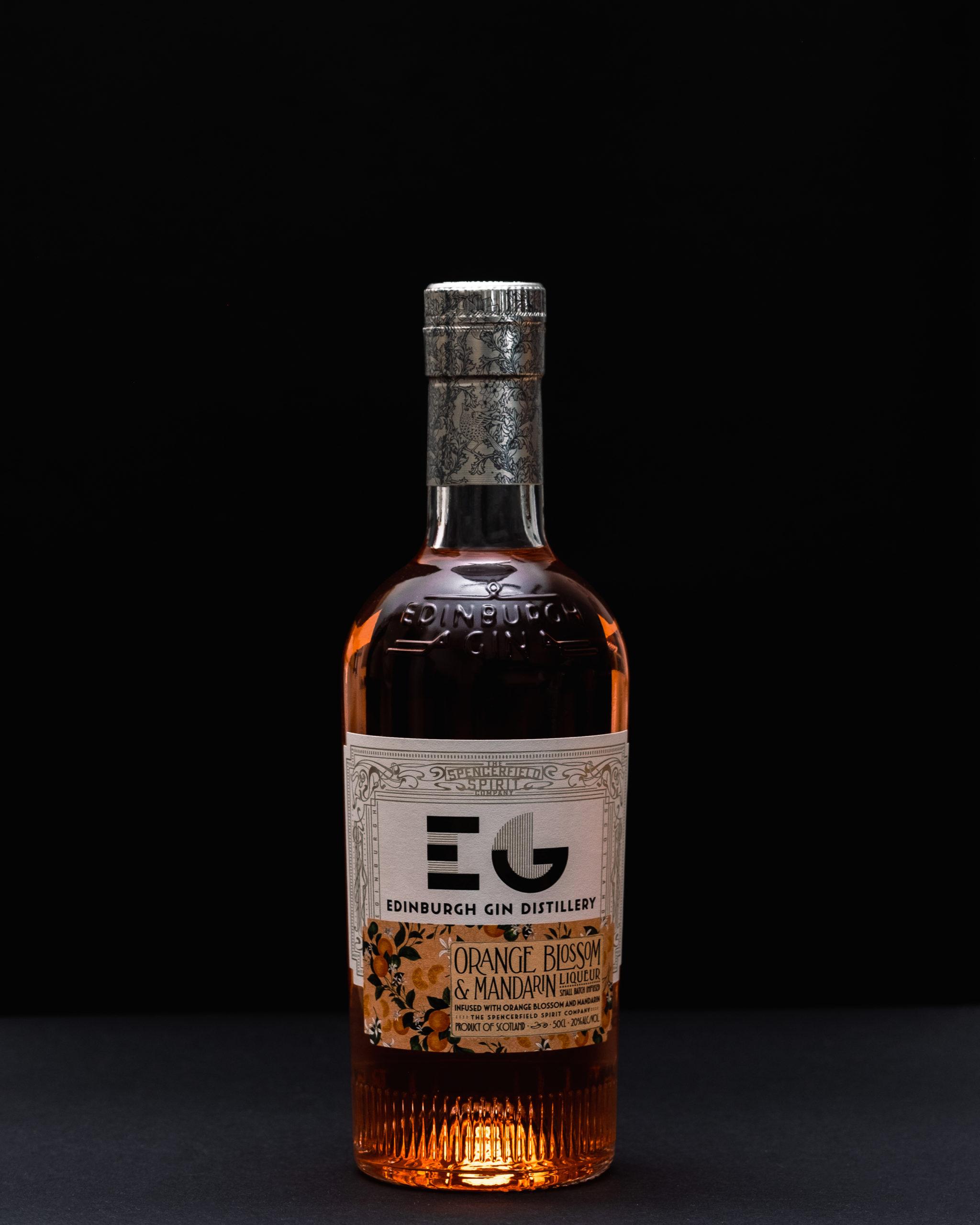 Edinburgh Gin Liqueur de Mandarine et Fleurs d'Oranger
