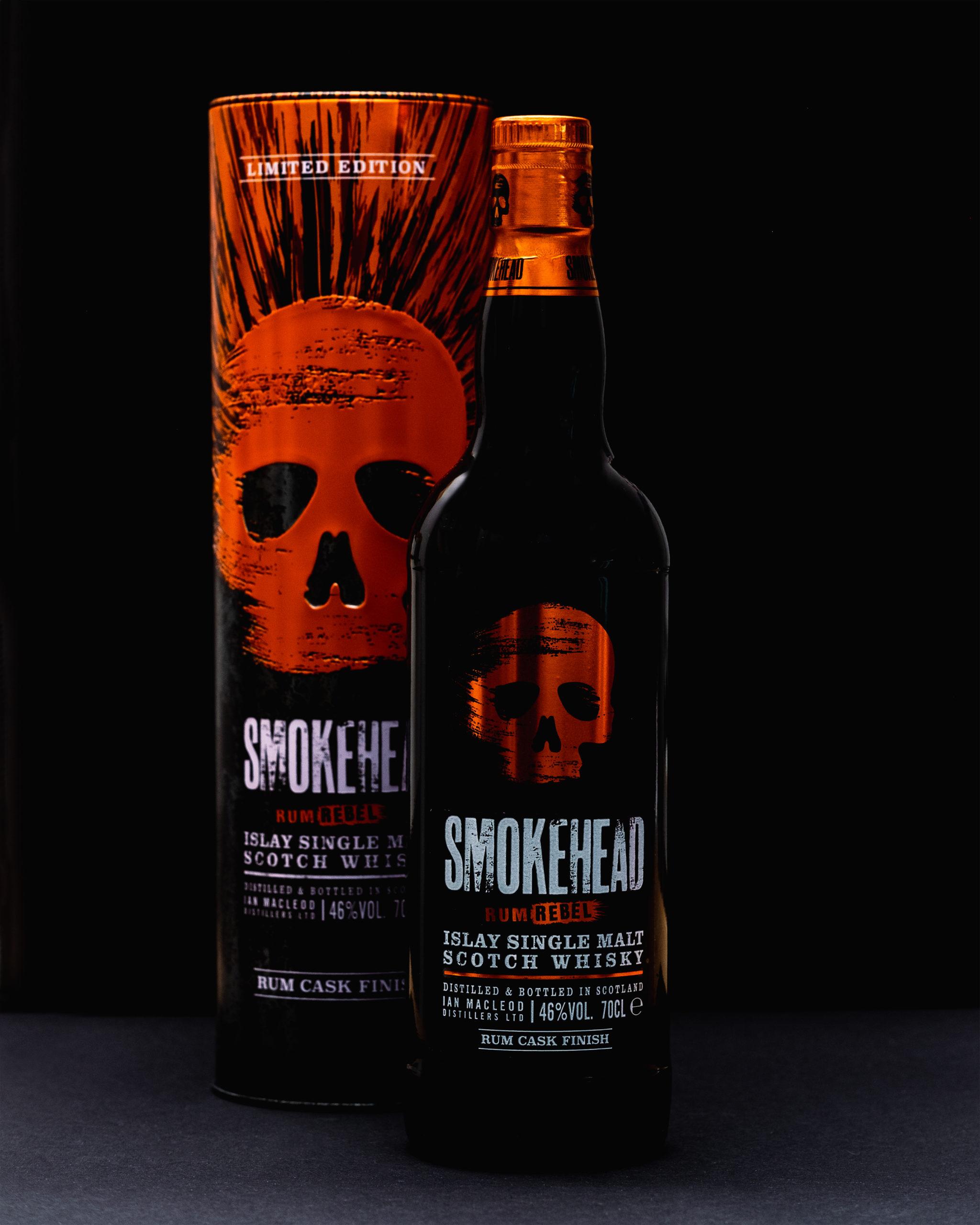 Smokehead Rhum Rebel Scotch Whisky